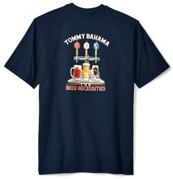 Tommy Bahama Beer Necessities Tee - Navy