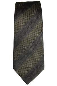 John Varvatos Wide Stripe Silk Tie
