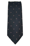 Jones New York Navy Silk Neat Necktie