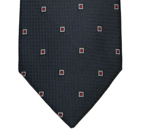 Jones New York Navy Silk Neat Tie