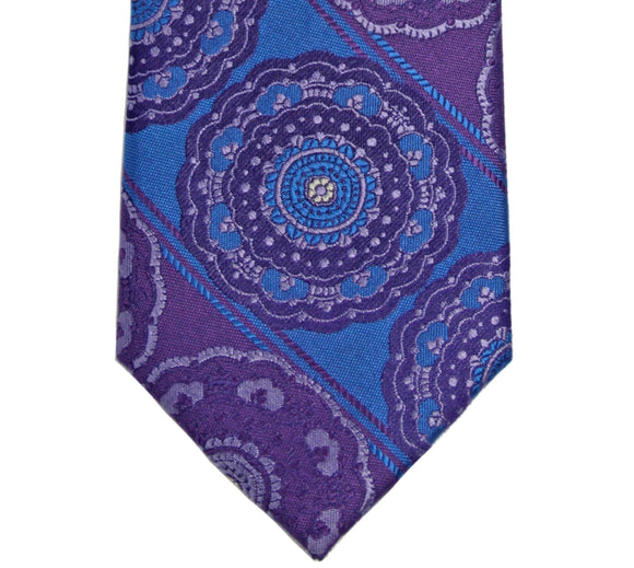 Purple and Blue Medallion