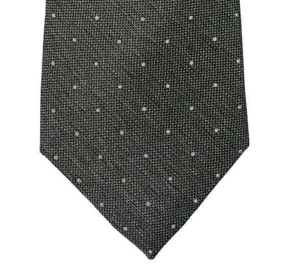 Beau Brummel Brown Mini Dot Silk Tie