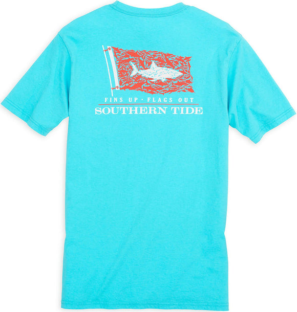 Southern Tide Shark Sighting T-Shirt T-Shirt - Turquoise