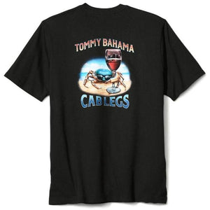 Tommy Bahama Cab Legs Short-Sleeve Graphic Tee - Coal