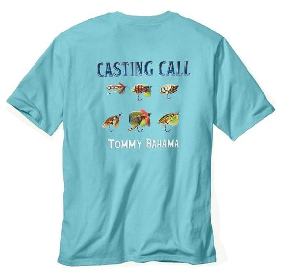 Tommy Bahama Casting Call T-Shirt - Hummingbird Blue