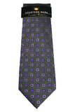 Countess Mara Gray Dotted Box Tie