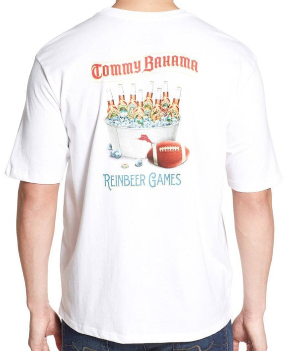 Tommy Bahama Reinbeer Games T-Shirt - White