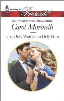 Carol Marinelli The Only Woman To Defy Him epubCheap Romance Books