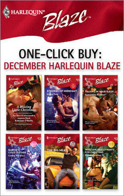 Jacquie D'Alessandro One Click Buy December Harlequin Blaze - Cheap Romance Books - 1
