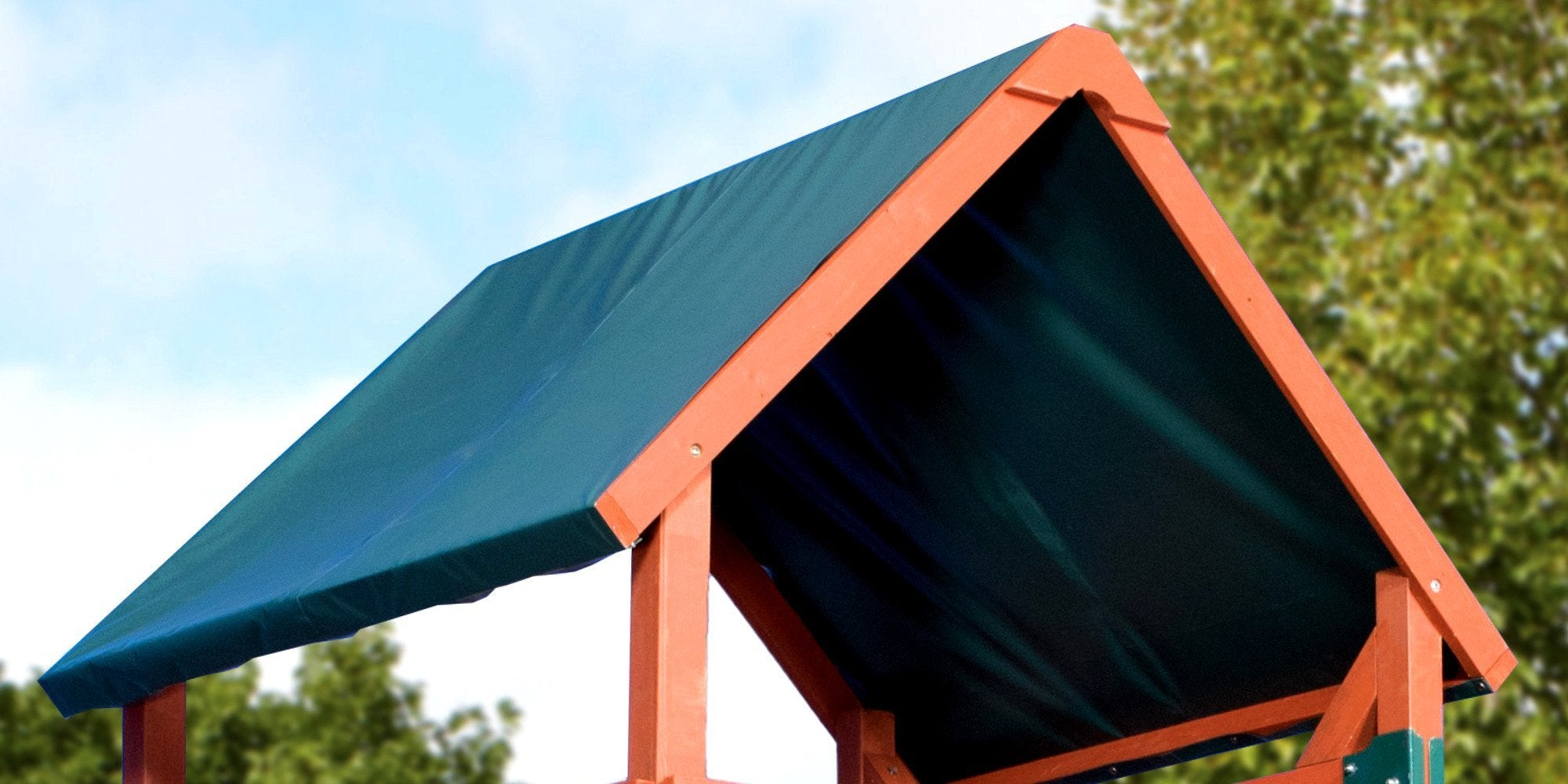 tarp roof playset accessories backyard discovery