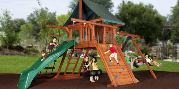 Avalanche Playset Expedition Series Backyard Discovery