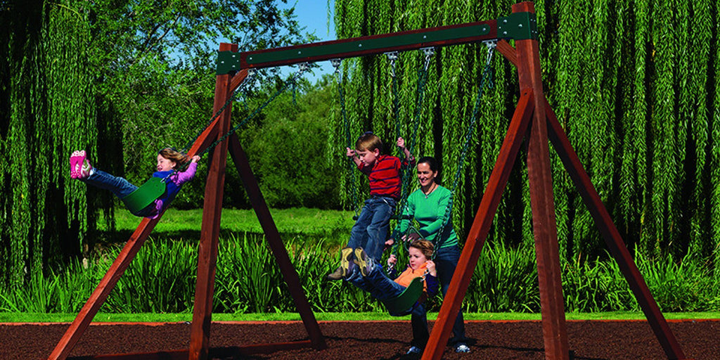 Backyard Adventures Swing Set | Outdoor Goods
