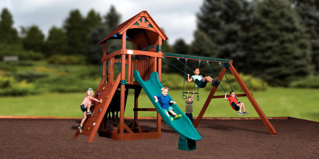 And Should Your Backyard Or Kids Ever Grow And Want Even More Variety,  Easily Add A Picnic Table, Sandbox Or Another Slide To Maximize Play Value  Without ...