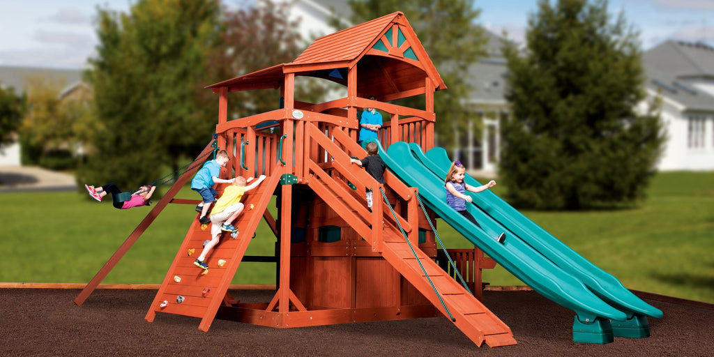Add Any Of Our Other Tallest And Longest Accessories To Create The Ultimate  Treehouse Custom Playset.