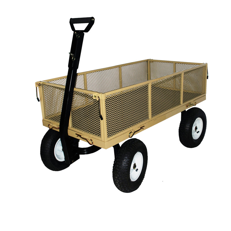 Garden Carts and Flat Free Tires Deluxe Camping