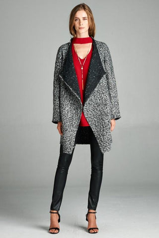Coat Triangle Print Jacket