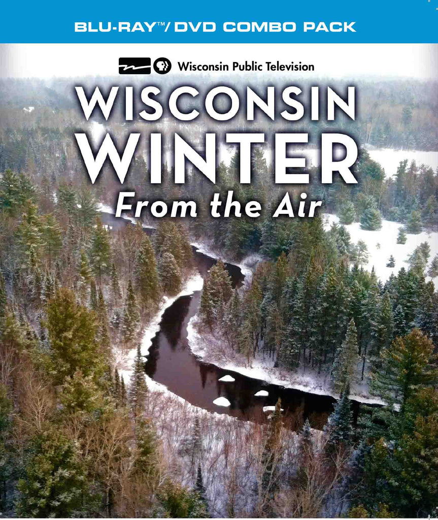 Wisconsin Winter From the Air