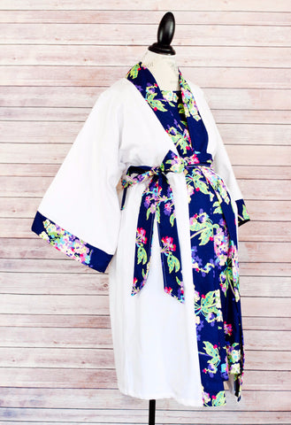 Alli -  Maternity Delivery & Nursing Robe