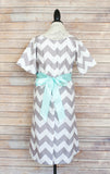 Gray Chevron - Maternity Hospital Delivery Bundle