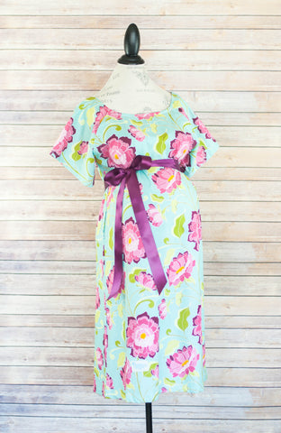 Rose - Maternity Labor and Delivery Hospital Gown