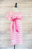 Pink Chevron - Maternity Hospital Delivery Bundle