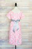 Pink Damask - Maternity Labor and Delivery Hospital Gown