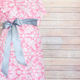 Pink Damask - Maternity Hospital Delivery Bundle