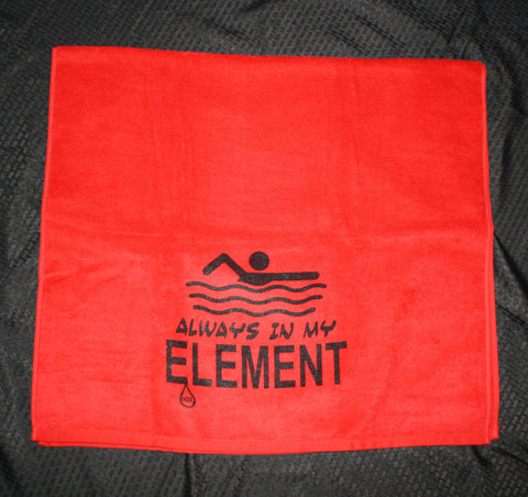 Element H2O Always in my Element Swim Towel