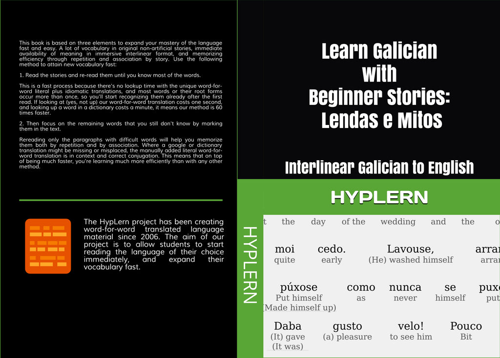 Learn Galician just by reading