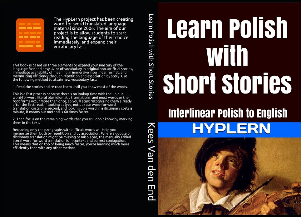Try out the HypLern method and learn Polish just by immersive reading of interlinear stories in Polish
