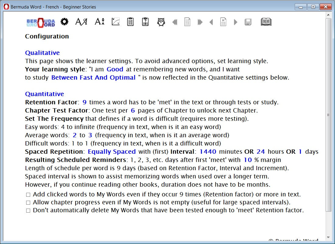 Bermuda Word Extensive Reading And Spaced Repetition Fast And Easy
