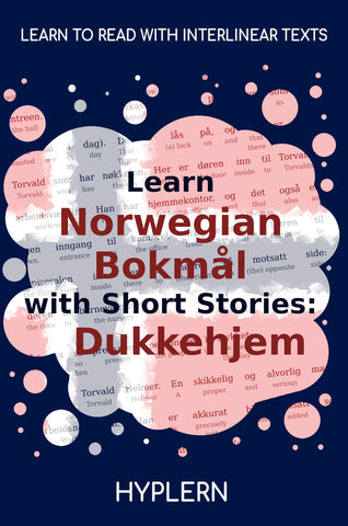 Best way to learn Norwegian fast and easy with interlinear books