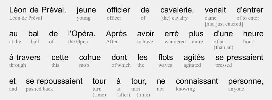 Try out interlinear material - A language learners' forum