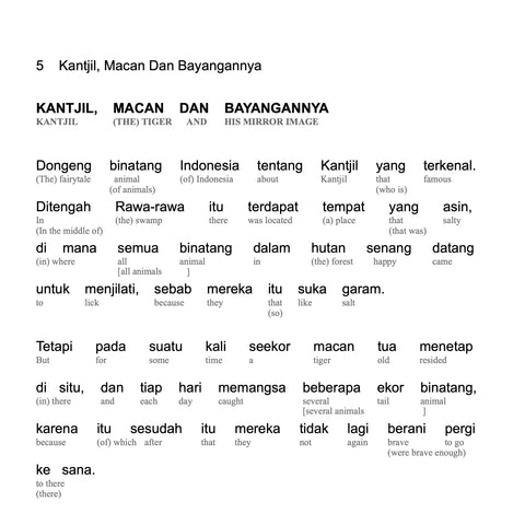 HypLern - Learn Indonesian Collection