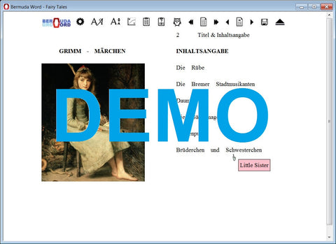 Bermuda-Word-Learn-to-Read-German-Fairytales-Demo
