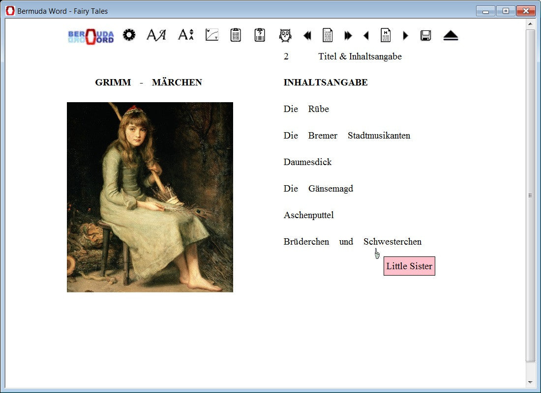 Bermuda Word German Fairytales Learn Fast And Easy