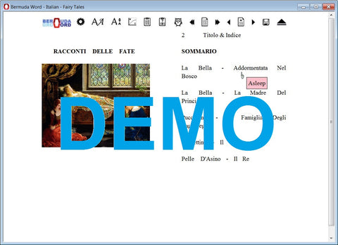 Bermuda-Word-Learn-Read-Italian-Fairytales-Demo