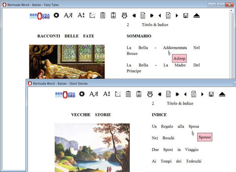 Bermuda Word - Learn Italian - Fairytales and Short Stories