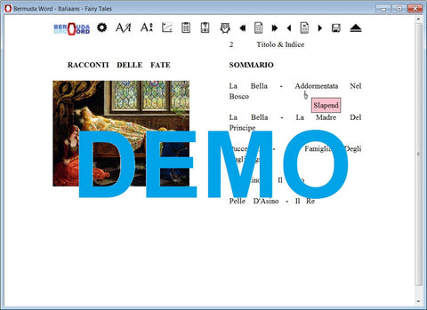 Bermuda-Word-Leer-Italiaans-Met-Sprookjes-Download-Gratis-Demo