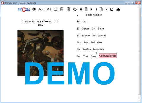 Bermuda-Word-Leer-Spaans-Met-Sprookjes-Download-Gratis-Demo