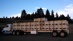 Last Truck Leaving Iris Vineyards