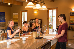 Iris Vineyards Tasting Room