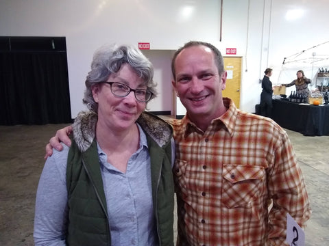 Pamela Frye and Aaron Lieberman