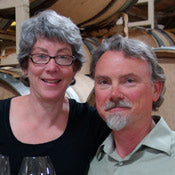 Richard Boyles and Pamela Frye Iris Vineyards