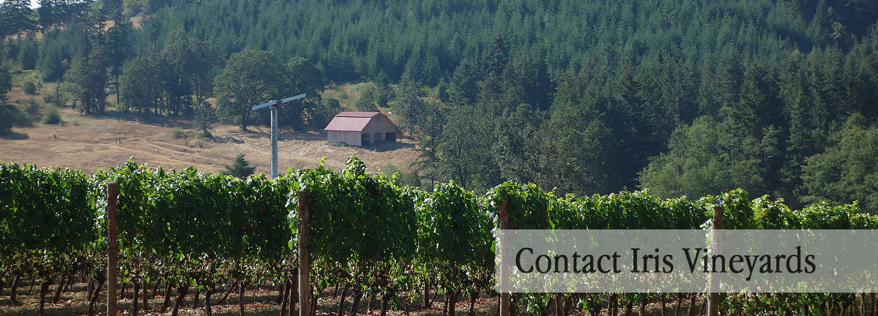 Contact Iris Vineyards