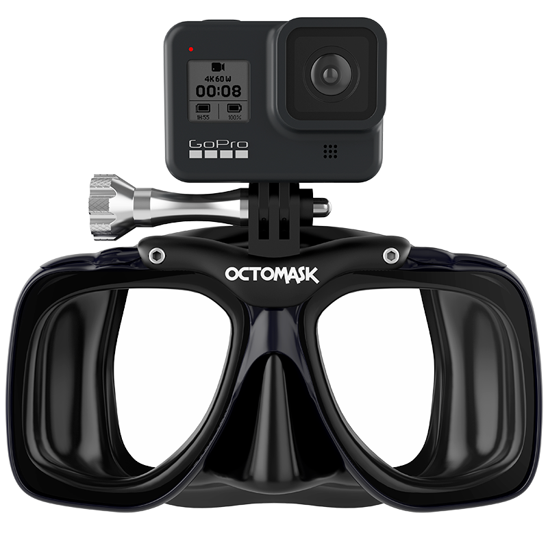 OCTOMASK - Dive Mask for GoPro