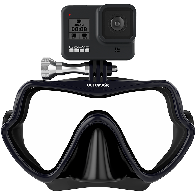 OCTOMASK - Frameless Dive Mask for GoPro