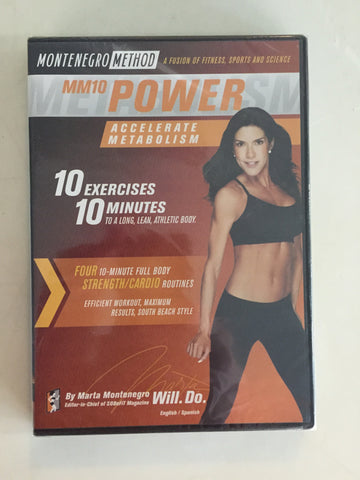 MM10 Power Montenegro Method DVD