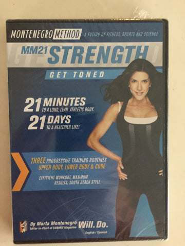 MM21 Strength Montenegro Method DVD