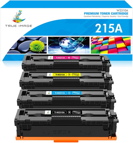 HP 215A W2310A 215 2310 Compatible Toner Cartridge (Black, Cyan, Magenta, Yellow, 4 Pack)